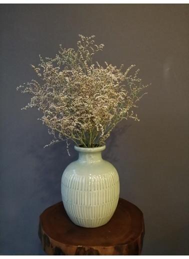 Kuru Çiçek Deposu Şoklanmış Beyaz Deniz Otu(Tatarika) (Dökülme Yapmaz) ,Kuru Çiçek Beyaz